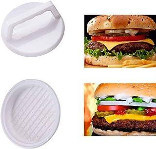 Ochine プラスチック ミートプレス 多用途 実用的 耐久性 ウェアラブル 無味 無毒 軽量 ハンバーガープレス ハンバーガーパテ キッチンツール