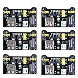 UCEC MB102 tagliere 3.3 V/V modulo di alimentazione per Arduino solderless (confezione da 6)