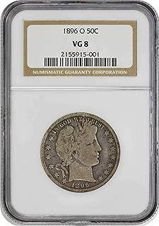 1896 o half dollar