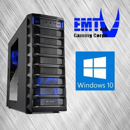 EMTech Gaming Corps ONE FX Advanced V1   ASUS 970 PRO GAMING / AURA 970 Mainboard   AMD FX-6300   Radeon R9 380 4GB   16GB DDR3 1866   1TB HDD + 120 GB SSD   750W 80+ Gold Thermaltake PSU   (Windows 10)