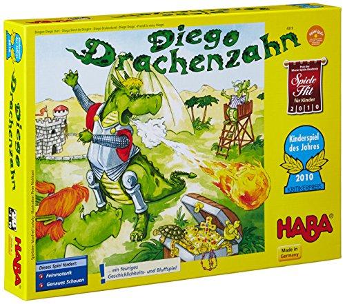 HABA 4319 Diego Drachenzahn - Juego Infantil sobre Dragones