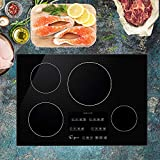 "Empava 30"" Induction Cooktop Electric Stove Black Vitro Ceramic..."