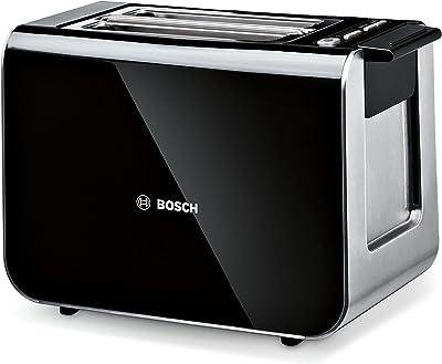 Bosch TAT8613GB Styline Toaster, Two Slice - Black