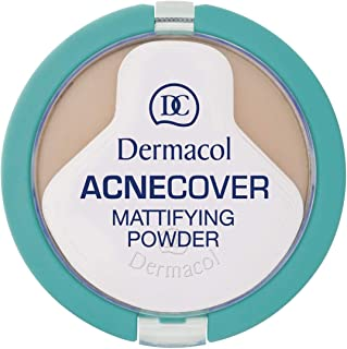 Dermacol Acnecover Mattifying Powder - 11 g, 3 Sand