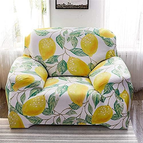 BABYCOW Fundas elásticas para sofá, Fundas para Silla, Funda para sofá Estampada en Forma de L, Funda para sillón, Funda Protectora para Muebles, Protector para sofá-15_Small