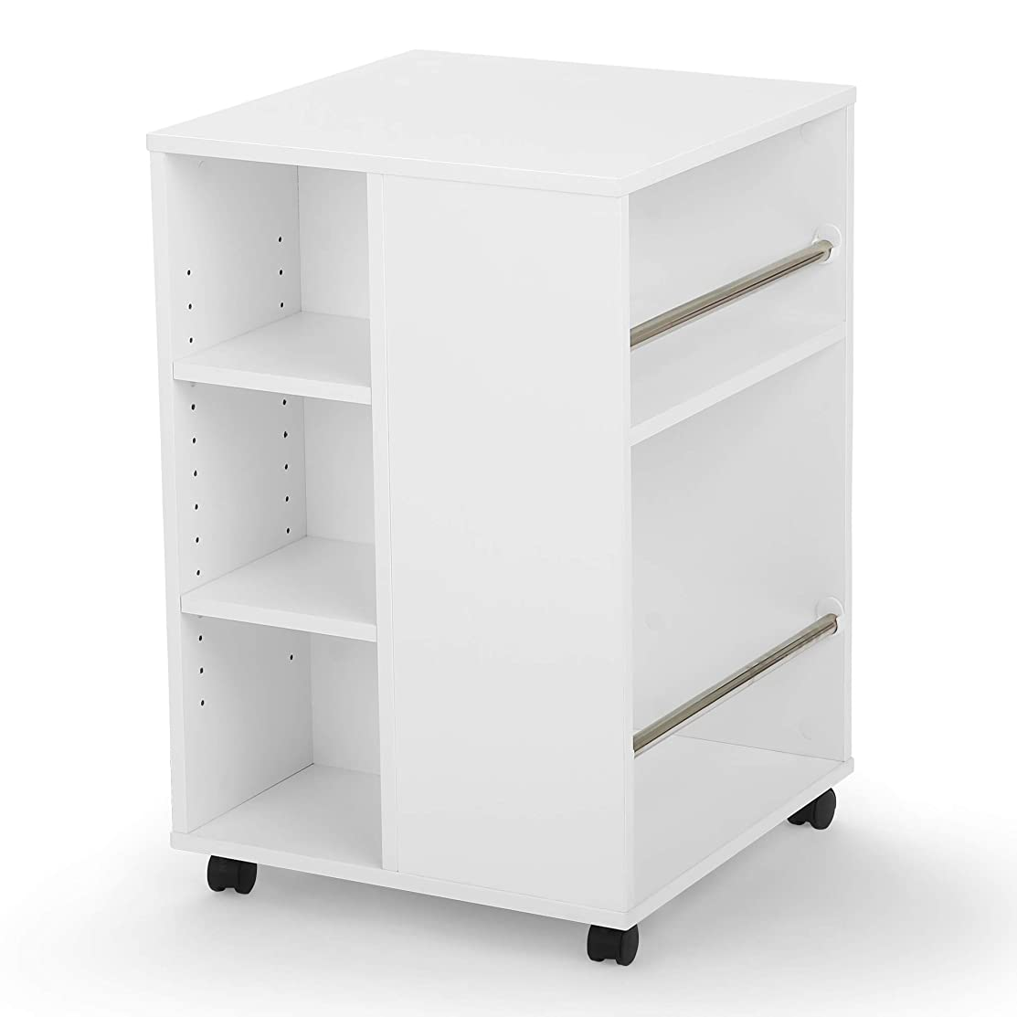 Arrow Mobile 4 Sided Sewing Accessories Storage Cube - White