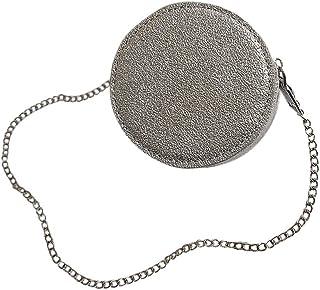 Ultramall Mini Small Square Bag Fashion New Women Bag Chain Shoulder Messenger Bag For Women Silver