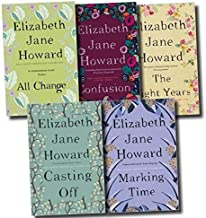 Elizabeth Jane Howard Cazalet Chronicles 5 Books Set, (The Light Years, Marking Time, Confusion, Casting Off and All Change) by Elizabeth Jane Howard (2015-06-07)