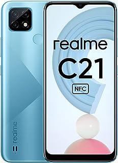 Realme C21 Mobile Phone, Sim Free Unlocked Smartphone with 5000mAh Massive Battery, 6.5 Inch Mini-drop Fullscreen, 13MP AI...