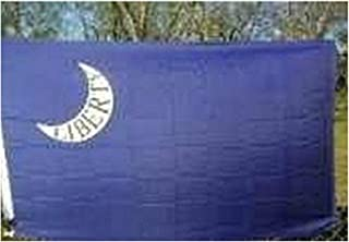 USA Premium Store Fort Moultrie Liberty Flag 3x5 ft Crescent Moon w/lettering South Carolina SC