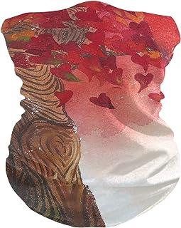 hengpai Neck Gaiter Women Face Scarf Mask-Dust, Balaclava Face Mask Bandana Dog Flowers