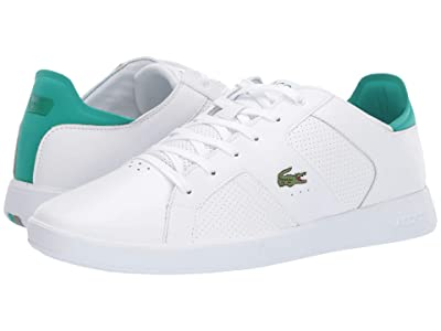 Lacoste Novas 219 1 SMA (White/Green) Men