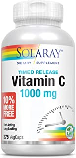 Solaray Time Release Vitamin C 1000 mg