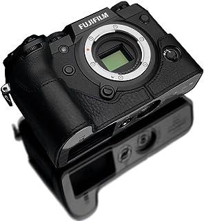 GARIZ FUJIFILM X-H1用 本革カメラケース XS-CHXH1BK ブラック