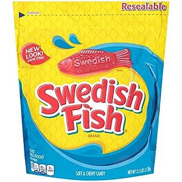 Swedish Fish Soft & Chewy Candy (Original, 3.5-Pound Bulk Bag)