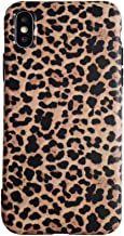 Leopard Case for iPhone Xs MAX Classic Luxury Fashion Protective Flexible Soft Rubber Gel Back Cover Shell Casing (Leopard Pattern, iPhone Xs MAX)