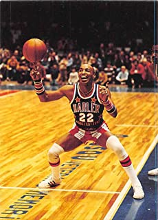 """1992 Comic Images Harlem Globetrotters Basketball #70 Carrying the Torch Harlem Globetrotters Fred""""Curly"""" Neal"""