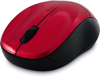 Verbatim Verbatim Wireless Silent Mouse 2.4GHz with Nano Receiver - Ergonomic, Blue LED, Noiseless and Silent Click for Ma...