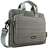 Evecase 11.6 - 12.5 inch Classic Padded Briefcase Messenger Bag with Shoulder Strap
