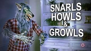 Gemmy 6' FT Halloween Holiday Werewolf Animatronic