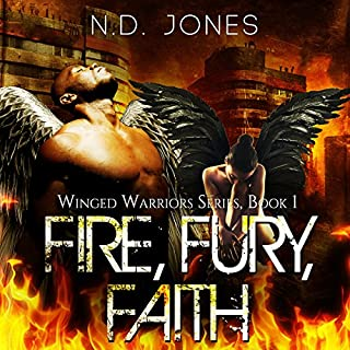 Fire, Fury, Faith     Winged Warriors              By:                                                                                                                                 N. D. Jones                               Narrated by:                                                                                                                                 Ryan Vincent Anderson                      Length: 3 hrs and 31 mins     13 ratings     Overall 4.0