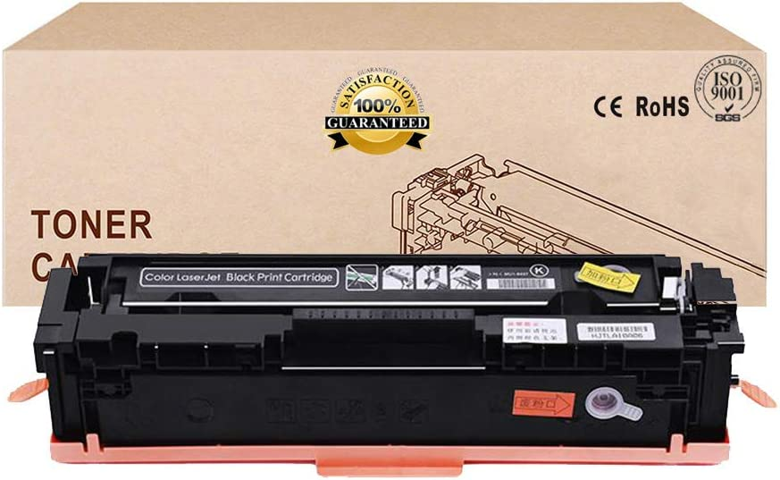 Compatible Toner Cartridges Replacement for HP 125A CB540A CB541A CB542A CB543A Toner Cartridge for HP Color Laserjet CP1215 1515N CP1518NI CM1312NFI Toner,4colors