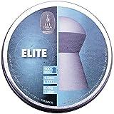 BSA Elite .177 4.5mm Cabeza Redonda 500 Pellets Escopeta aire comprimido Rifle Aire Caza Blanco