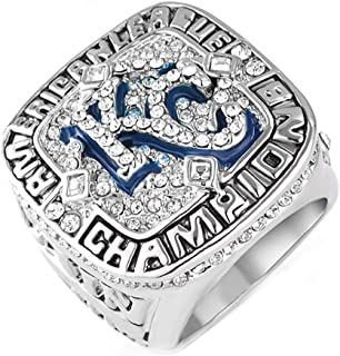 Mens Titanium Steel 2015 Kansas City Royals Championship Rings