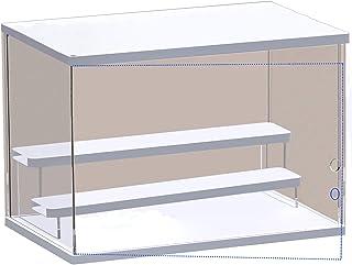 ELEpure Présentoir Marches à 3 Niveaux en Acrylique, Étagère à Escalier Transparents Organisateur Décoration de Collection...