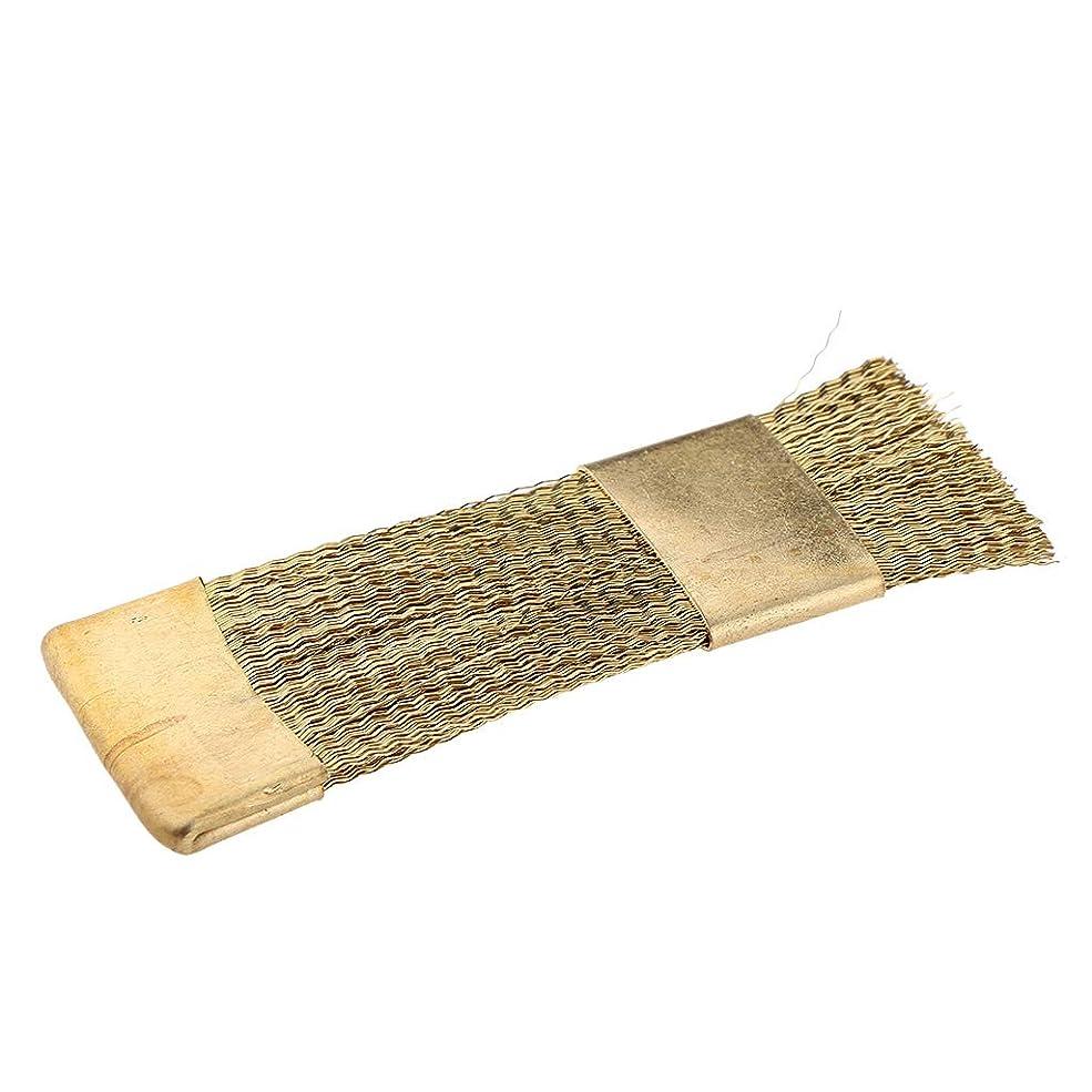 優雅な隣接遅いB Baosity プロ ネイルアート ドリルビット クリーニングツール 銅ワイヤー ブラシ ネイル道具