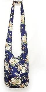 Bohemian Cotton Hippie Crossbody Bag Hobo Sling Bag Handmade Messenger Shoulder Bags