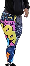 Todaies Women Lightning Workout Leggings Fitness Sports Gym Running Yoga Athletic Pants