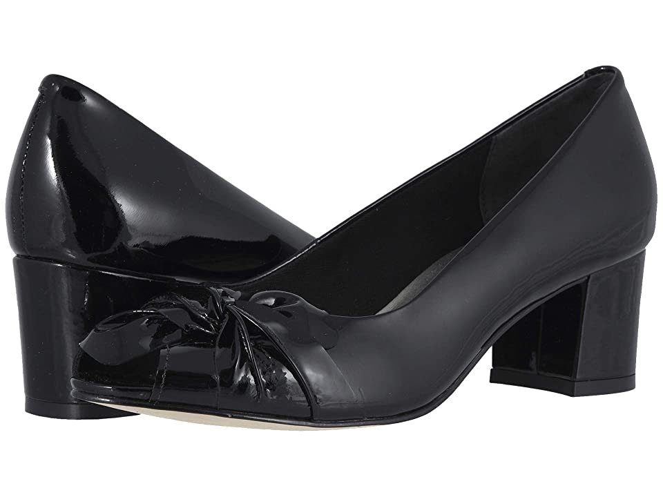 Walking Cradles Juneau (Black Patent Leather) High Heels