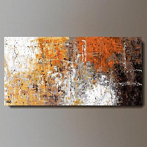 ART MMB ' Illusion - 1' - 1 Quadri Moderni Astratti Multicolor Dipinto A Mano su Tela Gia' INTELAIATO
