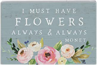i must have flowers always and always