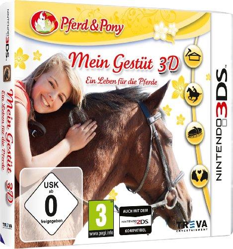 Mein Gestüt 3D - Ein Leben für die Pferde - [Nintendo 3DS]