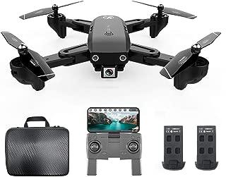 Yiwa SG907 Drone GPS avec 4K 1080P HD double cam/éra 5G Wifi RC Quadcopter flux optique Positionnement Mini drone pliable VS E520S E58 Sac de rangement 4K une pile