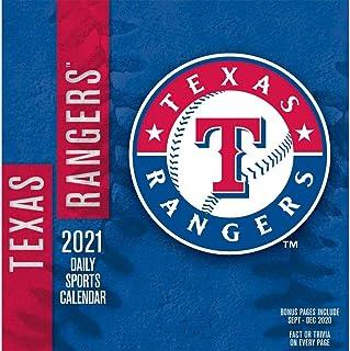 TURNER Sports Texas Rangers 2021 Box Calendar (21998051418)