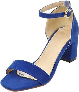 MisaKinsa Women Chunky Heel Sandals