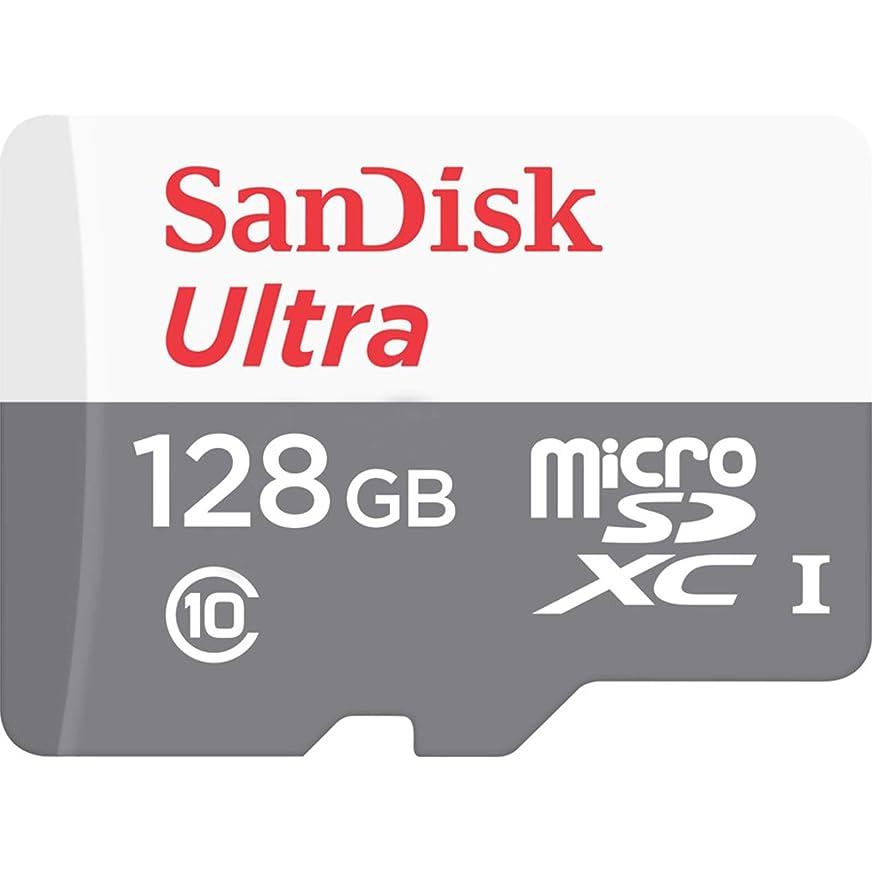 美容師ダイヤル救急車SanDisk microSDXC ULTRA 128GB 80MB/s SDSQUNS-128G Class10 サンディスク [並行輸入品]