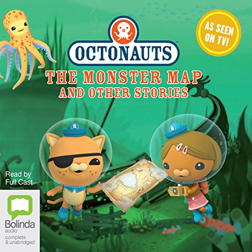 Octonauts: The Monster Map and Other Stories cover art