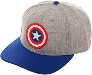 Marvel The Avengers Captain America Pre-Curved Bill Snapback Hat ed7b97859d4e