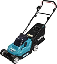 Makita DLM382CT2 Twin 18V (36V) Li-ion LXT 38cm Lawnmower Complete with 2 x 5.0 Ah Batteries and Twin Port Charger