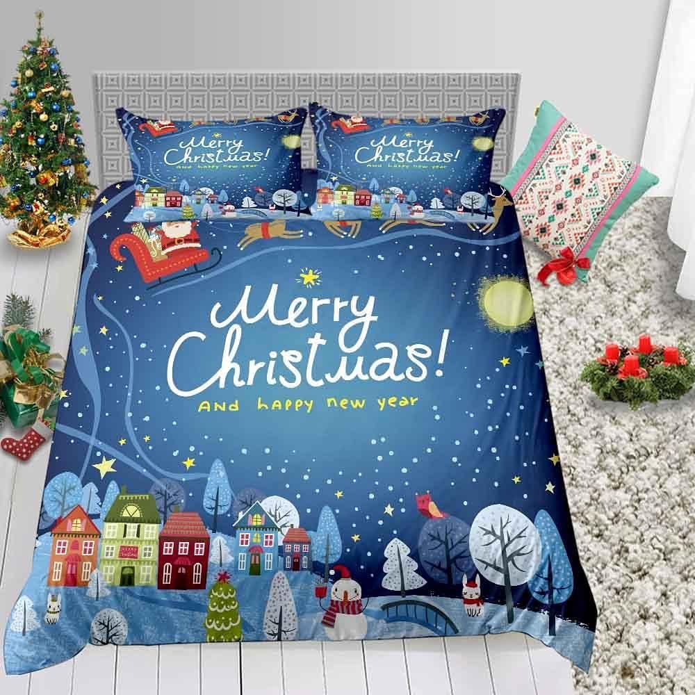 F FANAIJIA Luxury Christmas Ranking TOP17 Bedding Size Kids Sets Cartoon Lowest price challenge Full