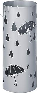 "SONGMICS Metal Umbrella Stand Silver Gray Umbrell, ULUC23S, Silver Gray, 7 5/8"" L x 7 5/8"" W x 19 1/4"" H"