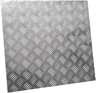 Zerobegin Pure Aluminum Plate,Metal Sheet,for Jewelry Making Hand Stamping Embossing Etching,Thickness 0.5mm,WIDTH 400mm