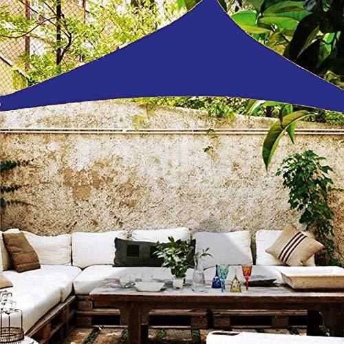 XYZLEO Sun Segel Sonnensegel Schattenspender Dreieck Beschattung UV Schutz Wetterschutz Wasserabweisend Windschutz & Tear Resistant Sonnenschutz Für Garten Terrasse