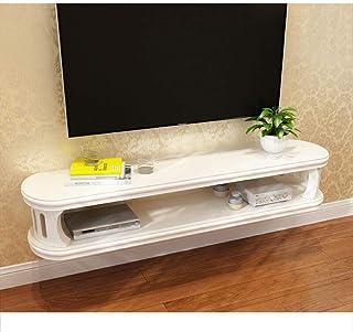 BDLYZ Los estantes flotantes Plataforma Flotante Decorativo Estante de la Pared for TV Unidad Organizador de Entretenimien...