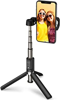 ATUMTEK Bluetooth Selfie Stick Tripod, 360° Rotation Mini Extendable Selfie Stick with Wireless Bluetooth Remote for iPhone 11/11 Pro/XS Max/XR/XS/X/8/7/6s/6 Plus, Samsung, Huawei Smartphones