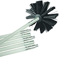 Dryer Duct Cleaning Kit Dryer Vent Cleaning System Flexible Lint Remover 6 Durable Rods Extends Up to 12 Feet Synthetic Brush Head with or Without A Power Drill (Ship from USA)